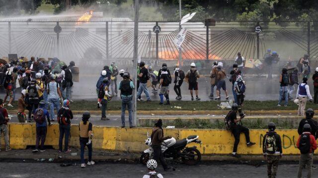 Wenezuela pogrąża się w chaosie. Prezydent: zachęcanie USA do interwencji