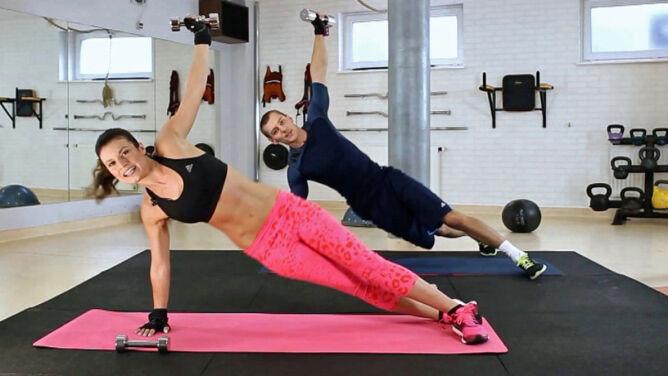 Trening wzmacniający z Kasią Kępką