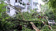Skutki wieczornych burz w Niemczech