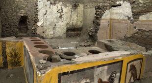 Odkrycie w Pompejach (PAP/EPA/PARCO ARCHEOLOGICO DI POMPEI/HANDOUT)