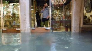 Polski gondolier z Wenecji: dziś już mniej wody