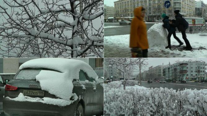 """Jekaterynburg pod śniegiem. <br />""""Myśleliśmy, że wiosna przyszła na dobre"""""""